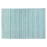 Tapis design 'CLOCLO' 160/230 cm motifs graphiques bleus