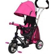 Tricicleta Cu Sezut Reversibil Sunrise Turbo Trike Pink