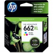 Cartucho HP 662XL-Tricolor