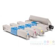Tonery OKI C301 / 321 / MC332 Multipack CMYK - štvorbalenie alternatívnych tonerov