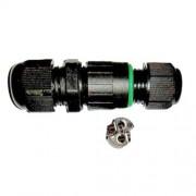 IP67 kötődoboz henger, 10A, maximum 2x1mm vezetékhez! A vízmentes lámpák elengedhetetlen kelléke! Life Light led.