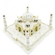 Cute Creative Magic Taj Mahal 3D Puzzle Paper Models Europe EN71 US ASTM F963 6P and 3C Quality Inspection 87 Pieces