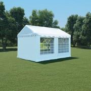 vidaXL Tenda de jardim PVC 3x4 m branco
