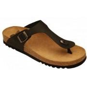 Dr.Scholl'S Div.Footwear Scarpa Evis Oiled Nubuck Mens Black 43