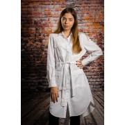 Camasa femei tip rochie Prisma white