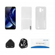 EY 5,5 Pulgadas HOMTOM Smartphone S16 2GB+16GB Quad Core 3G Para Android 7.0 UK Plug-White