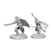 Set Figurine Dungeons And Dragons Nolzur's Unpainted Elf Male Ranger
