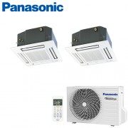 Aer Conditionat MULTISPLIT Caseta PANASONIC CU-2E18SBE / 2x CS-E12PB4EA INVERTER 2x12k BTU/h