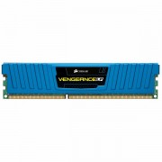 Corsair Vengeance Low Profile Blue DDR3 16GB (Kit of 2) 1600MHz CL9 DIMM, 1.5V CML16GX3M2A1600C9
