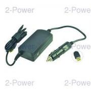 2-Power Bil-Flyg DC Adapter Lenovo 20V 3.25A 65W (45N0254)