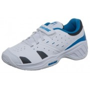 Babolat Driver 3 Junior Tennisschoenen Wit/Blauw Maat 27