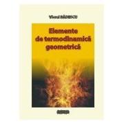 Elemente de termodinamica geometrica.