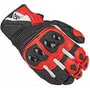 Berik Sprint Guantes de la motocicleta Negro/Rojo 2XL