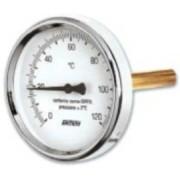 SIT precíziós hõmérõ hátsó csatlakozással 80mm/50mm 120°C