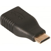 Male mini HDMI to HDMI Female Adapter (Type C Male to Type A Female adapter)