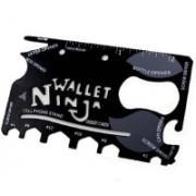 Bruzone Ninja Wallet 18 in 1 F16 18 Swiss Army Card(Black)