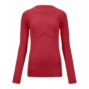 Ortovox 230 Merino Competition Long Sleeve W - tričko Barva: hot coral, Velikost: M