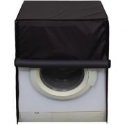 Glassiano Coffee Waterproof Dustproof Washing Machine Cover For Front Load Panasonic NA-855MC1W 5.5 Kg Washing Machine