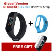 mi Band 4 inteligente Color pantalla pulsera ritmo cardíaco Fitness 135mAh Bluetooth 5,0 50M nataci