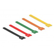 Delock klittenband kabelbinders Mixed (10 stuks) 20cm