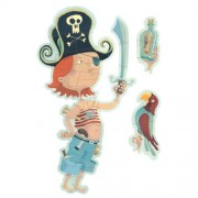 Djeco / Oscar the Pirate Giant Changeable Floor Puzzle