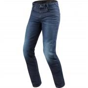 REV'IT! Motorrad-Jeans Motorrad-Hose REV'IT! Vendome 2 RF Motorradjeanshose dunkelblau used 30/32 blau