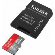 SanDisk microSDHC 16GB 98MB/s A1 Class 10 UHS-I SD Adapter Memory Zone App Ultra Android memorijska kartica SDSQUAR-016G-GN6MA SDSQUAR-016G-GN6MA