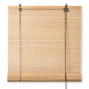 Xenos Rolgordijn bamboe - 90x180 cm