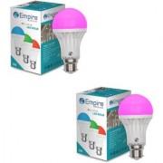 SWARA B22 3W COLOR LED BULB PINK- PACK OF 2