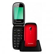 Telefon Mobil Sunstech CELT17 Roșu