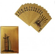 GENERIC HUB™ 24k Gold Foil Playing Cards -Burj Al Arab Design