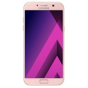 "Telefon Mobil Samsung Galaxy A3 (2017), Procesor Octa-Core 1.6GHz, Super AMOLED capacitive touchscreen 4.7"", 2GB RAM, 16GB Flash, 13MP, 4G, Wi-Fi, Dual Sim, Android (Roz)"