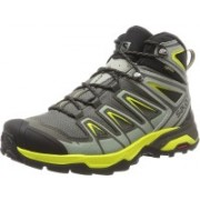 Salomon X Ultra 3 Mid GTX Hiking & Trekking Shoes For Men(Grey)