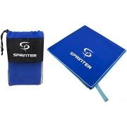 Sprinter - mikroszálas törölköző 100 × 160 cm - kék