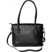 Bagged for Good BFG004BLK Sling Bag(Black, 9 inch)