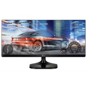 "LG 25UM58, 25"" Wide LCD AG, IPS Panel, 14ms, 1000:1, Mega DFC, 250 cd/m2, 21:9, 2560x1080, sRGB 99%, HDMI, Tilt, Headphone Out, Black Glossy"