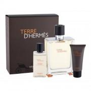 Hermes Terre d´Hermès set cadou apa de toaleta 100 ml + Gel de duș 40 ml + Balsam după ras 15 ml pentru bărbați