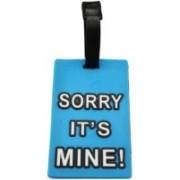 Funcart Sorry Its Mine Sky Luggage Tag(Blue)