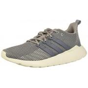 Adidas Questar Flow Tenis para Correr para Hombre, Color Onix/Onix/Dove Grey, 10.5