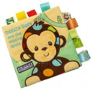 Creazy Animal Monkey Puzzle Cloth Book Baby Toy Cloth Development Books