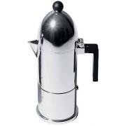 Alessi La Cupola Espressobryggare Svart 6 koppar