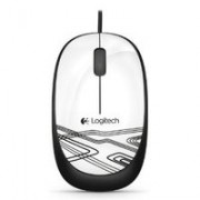 M105 CORDED MOUSE - WHITE