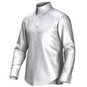 Maatoverhemd wit/roze/blauw 54397