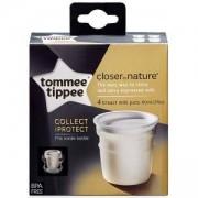 Комплект контейнери за съхранение на кърма, 4 x 60мл., Tommee Tippee, 262143