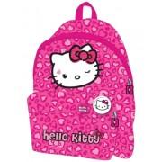 Ghiozdan gradinita Simplu Hello Kitty roz Pigna