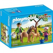 PLAYMOBIL 6949 Vet with Pony and Foal
