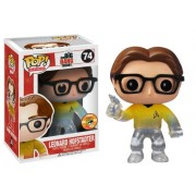 Funko POP Television Leonard Star Trek Gold Shirt with Gun Vinyl Figure (SDCC Exclusive)