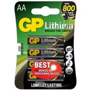 GP Batteries Lithiumbatteri GP Batteries AA - 4-pack