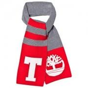 Timberland Stort Träd Halsduk Marinblå och Röd Stickade halsdukar