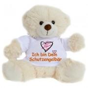 geschenkidee.ch Plüschbär mit T-Shirt Schutzengelbär